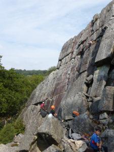 Sortie à La Fosse Arthour (50) @ Site d'escalade de La Fosse Arthour