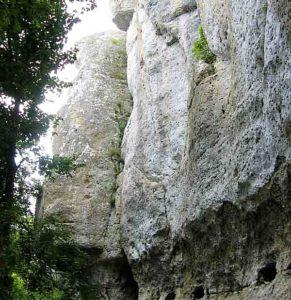 Sortie à Angles sur l'Anglin (86) @ Site d'escalade de la Guignoterie